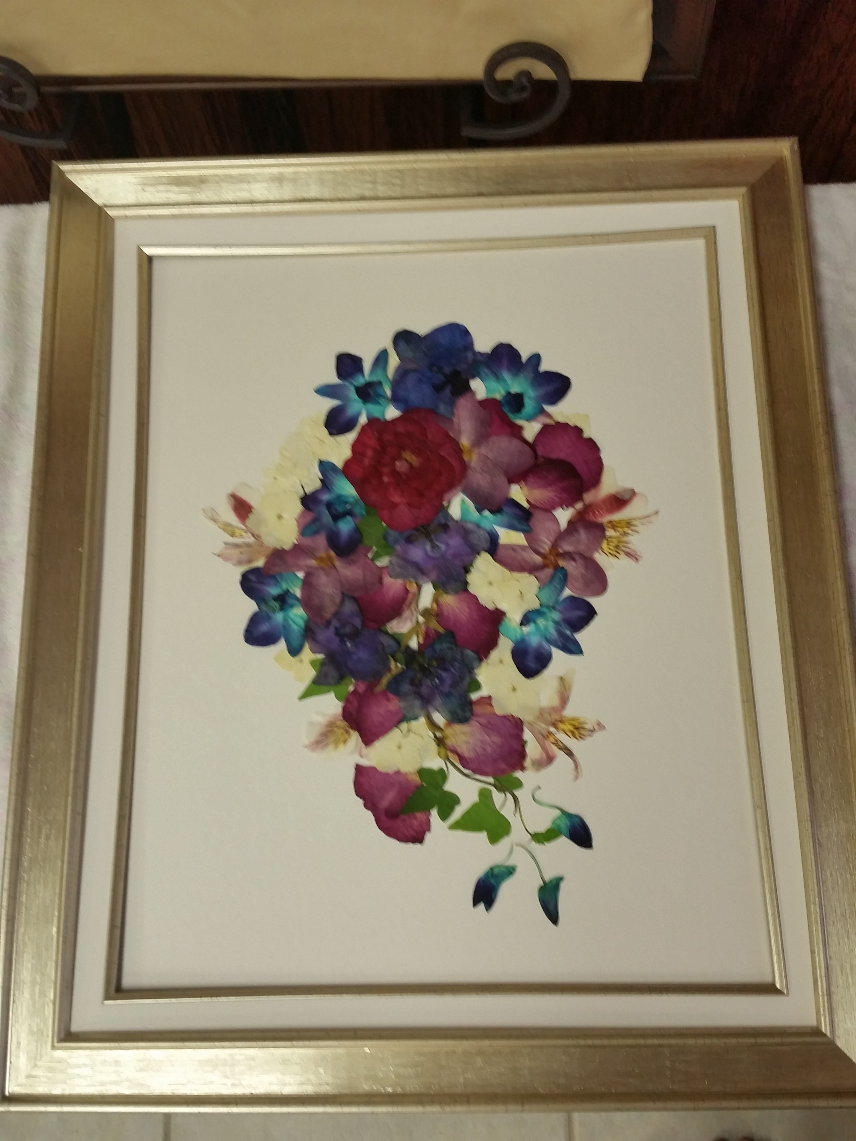 Pressed and framed pressed floral memories 180 izmirmasajfo