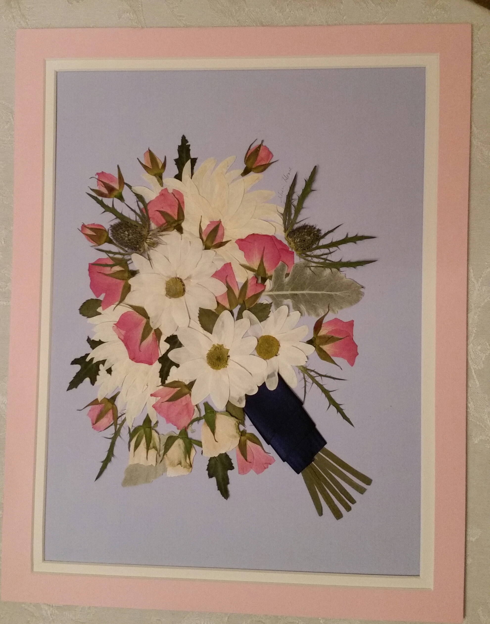 Pressed and Framed | Pressed Floral Memories